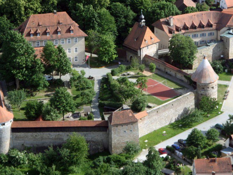 Burg Hohenberg_Luftbild