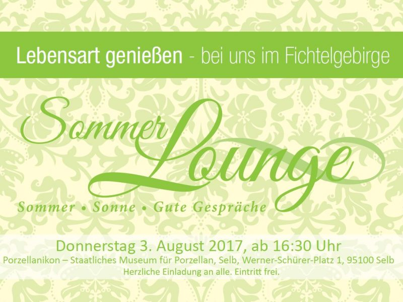 Sommerlounge 2017 Flyer