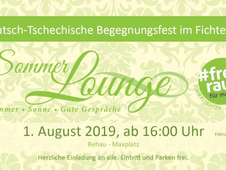 Sommerlounge: noch bis Ende Mai bewerben; Blickpunkt Fichtelgebirge 11.05.2019